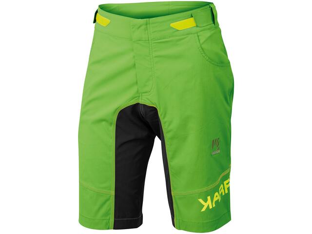 Karpos Ballistic Evo Pantalones cortos Hombre, apple green/black